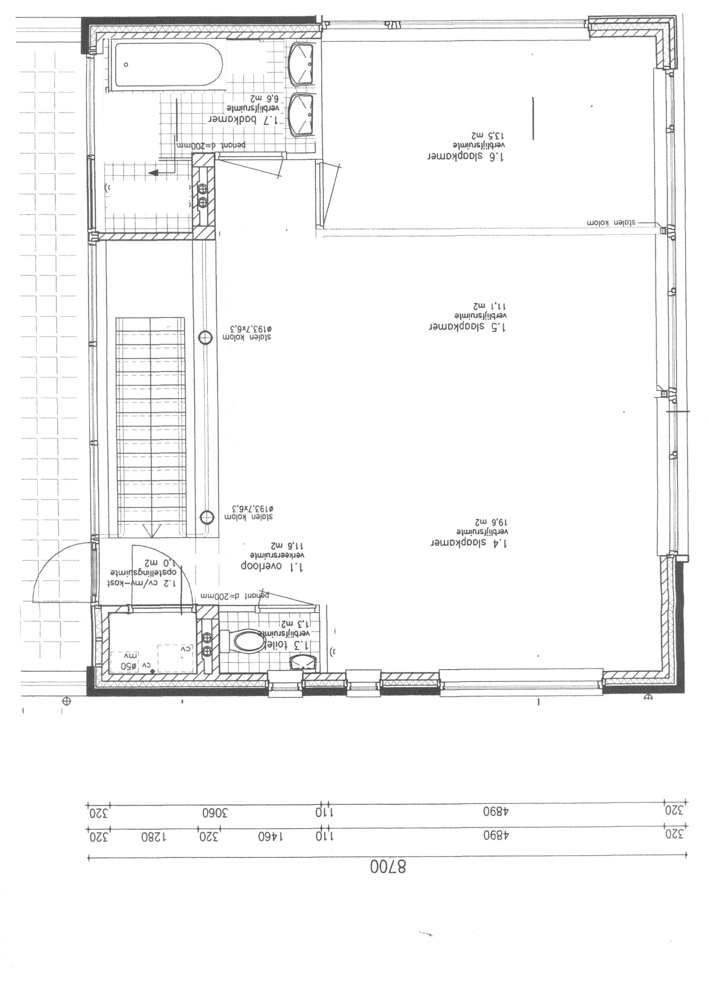 Woning eerste verdieping