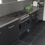 Keuken met gasfornuis 6 pits Borretti